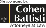Site sponsored by: Cohen Battisti Attorneys at Law