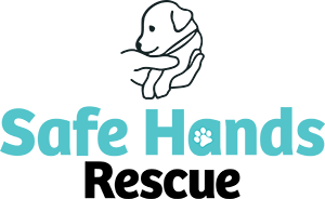 Safe Hands Rescue logo stacked